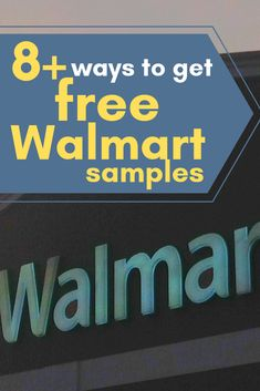 10cb29c77ce Free Samples from Walmart  8+ Ways to Score
