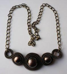 zipper necklace Gemstone Jewelry, Beaded Jewelry, Jewellery, Ring Necklace, Bracelet, Earrings, Zipper Crafts, Zipper Jewelry, Diy Rings