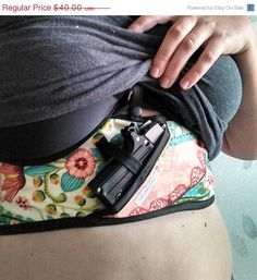 Stylish concealed carry option for women. Fancy pants holsters https://www.etsy.com/listing/213441072/custom-boob-buddy-holster-pick-your-own