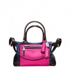 LEGACY COLORBLOCK LEATHER MOLLY SATCHEL