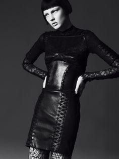 Photographer- William Lords  Stylist- Donald Hicks  Model-Patricia van der Vliet