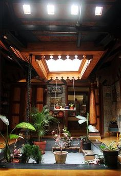 Centre for Vernacular Architecture Trust :: Gallery Indian Home Design, Kerala House Design, Indian Home Decor, Home Building Design, Home Design Plans, Home Interior Design, Building Plans, Interior Decorating, Kerala Traditional House