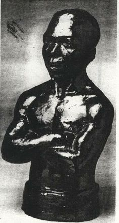 AUGUSTA SAVAGE - The Pugilist 1942 African American Artist, American Artists, Augusta Savage, Artist Project, Harlem Renaissance, Black Art, Sculpture, Ceramics, Superhero