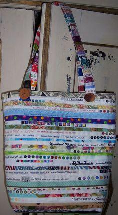 Selvedged bag