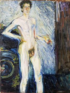 Nude Self Portrait with Palette - Richard Gerstl