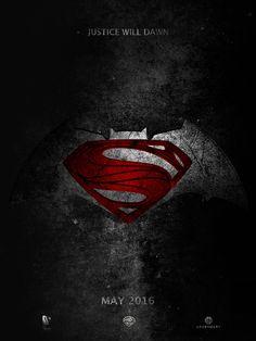Fan poster for Batman Vs Superman: Dawn Of Justice by Raynnier Gallegos. #Poster #BatmanVsSuperman #DawnOfJustice