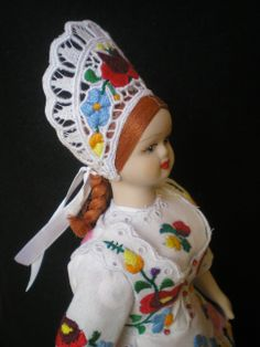 A china doll from Kalocsa, Hungary no. 4.