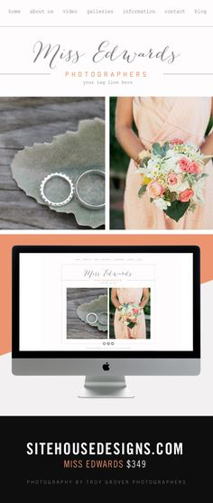 a light and pretty website theme. http://sitehousedesigns.com