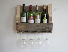 Houten wijnrek - Pinot noir
