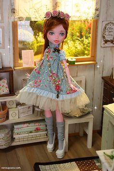 OOAK monster High ROSALIND | Flickr - Photo Sharing! - I can't believe this is a monster high doll!