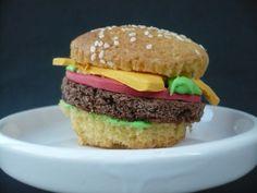 Carola bakt Zoethoudertjes: Hamburger cupcake