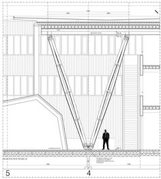 METLA Forest Research Centre / SARC Architects | complete-column-details-02