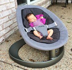 TheBabyGuyNYC's precious little niece Veda loves the Nuna Leaf Curv.