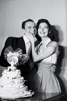 Frank Sinatra & Ava Gardner on their Wedding Day - 1951