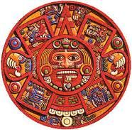 The Life Giving Sun as depicted by the Aztecs.