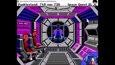 """Let's Play """"Space Quest 3"""" - 007 Finale - #letsplay #retrogaming #DOS"""