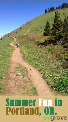 Bike, Run, Skate, Swim, Hike: Grove's Favorite Summer Activities in Portland Oregon!