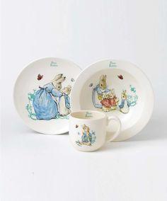 Peter Rabbit - 3 Piece Breakfast Set