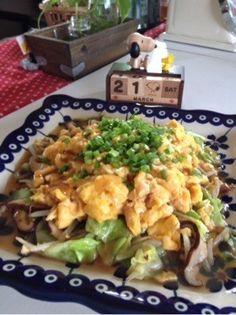 キャベツ もやしの卵あんかけ♥節約簡単✨ by ヒロスヌーピー [クックパッド] 簡単おいしいみんなのレシピが249万品