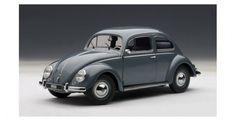 Volkswagen Beetle Kaefer Silver Grey AUTOart 79774