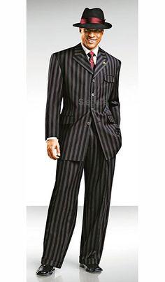 Michael's grooms zoot suit. Probably more his style.
