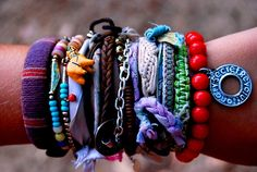 you can never have enough bracelets...ever