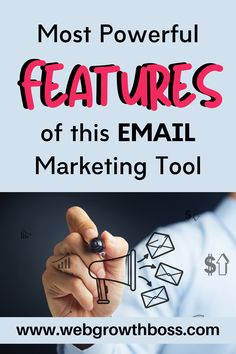 """What's the first thing that comes to mind when you hear the word """"email marketing software""""? Most people think of a tool that could help them manage email contacts, send email campaigns, and create autoresponders to keep their audience engaged. But what if a tool goes beyond traditional email marketing and becomes your complete marketing automation suite? #automation #emailmarketing #getresponse #getresponsereview Email Marketing Software, Marketing Automation, Business Marketing, Affiliate Marketing, Digital Marketing, Make Real Money Online, Best Email, Seo Strategy, Email Campaign"""