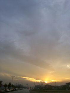 Gün batımı...Düzce
