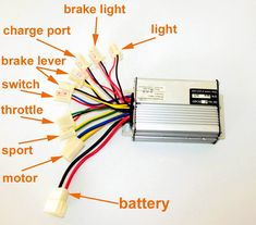 Electric Scooter Wiring Diagram and Cheap V Electric Wheelchair Controller, Find V Electric Electric Motor For Car, Electric Go Kart, Electric Bicycle, Electric Scooter, Electronic Circuit Projects, Electronics Projects, Motorcycle Design, Bike Design, Welding
