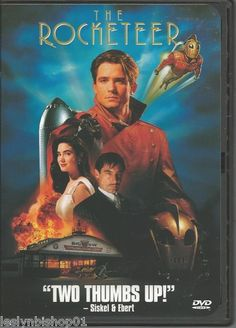 The Rocketeer DVD 1999 Bill Campbell Director Joe Johnston | eBay