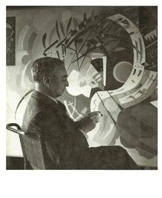#Kandinsky dipinge una visione astratta del mondo reale, proprio come lo sciamano tratta con entità che esistono dietro questa realtà. E' in questo processo di astrazione che si configura l'artista come sciamano. Non perdetevi questo aspetto inedito della sua arte in mostra a #Vercelli! www.mostrakandinsky.it #kandinskysciamano #arte #sciamanesimo #pittura #artista #sciamano #mostra [Foto di flasd.tumblr.com]