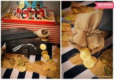 Jake and the Neverland Pirates birthday party! See more party ideas at CatchMyParty.com!