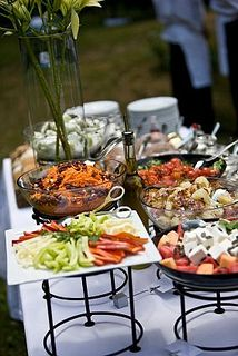 With Saint Germain Catering food and drinks serving as the center of the party