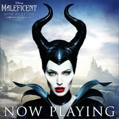 Listen well, all of you: Maleficent is now playing in theaters in 3D!  Find showtimes and see it today: http://di.sn/pYC