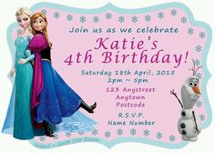 24 personalised magnetic butterfly shoe birthday party invitations magnetic birthday invitations frozen elsa anna pack of 24 kids party filmwisefo Choice Image