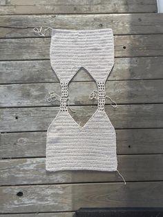 crochet tank top pattern : us women's XS XXL PDF image 7 Crochet Summer Tops, Crochet Crop Top, Crochet Blouse, Mode Crochet, Diy Crochet, Crochet Designs, Crochet Patterns, Bikini Crochet, Crochet Hook Sizes