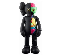 KAWS: another cool sculpture. great colors and interesting design.