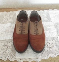 Brown suede Hush Puppies shoes