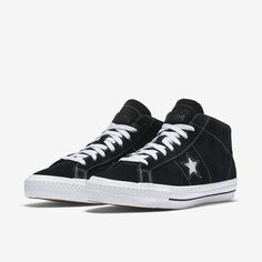 2c6ff1f021e8 Converse Cons One Star Pro Suede Mid Top Men s Skateboarding Shoe