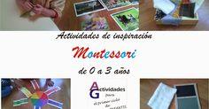 Actividades de inspiración Montessori en los 3 primeros años Una de las ideas básicas del método Montessori es SEGUIR AL NIÑO, por lo... Montessori Toddler, Toddler Activities, Play Spaces, Happy Kids, Martini, Preschool, Classroom, Teaching, Flashcard