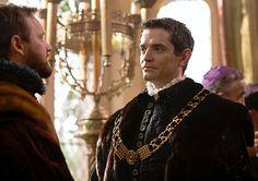 James Frain as Thomas Cromwell. I really liked his character.