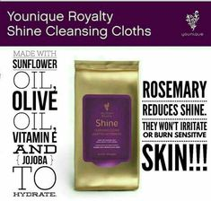 Makeup Habits - Younique royalty cleansing cloths/makeup remover cloths www.youniqueprodu... Makeup has become one of the greatest allies of beauty for most of us, since it helps us to correct those small imperfections that appear on our face due to factors such as the passage of time or stress.