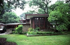 I think this house is absolutely perfect. It's hard to believe how old it is - Frank Lloyd Wright Isabel Roberts House 1908