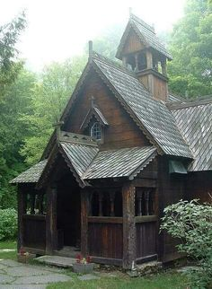 Lovely wooden church