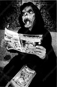 Hell Demon Reading Comic Book, 1979
