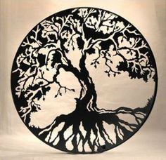 ~Tree of Life~ We as humans develop 'roots' of our beliefs, 'branch out' by means of wisdom and the 'trunk' (mind & body) keeps them connected.  As humans we are constantly growing, constantly creating connections with others, constantly seeking understanding.