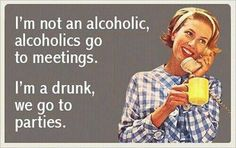 Not a drunk, but still, this is funny, jack nicholson style