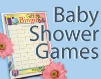 website with baby shower games