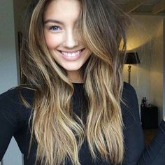 15 Different balayage hair color. Balayage hair color for long hair. Long hairstyle for women. Hair Color Balayage, Ombre Hair, Brown Balayage, Blonde Balayage, Carmel Balayage, Balayage Hairstyle, Blonde Mode, Balayage Straight, Hair Color And Cut