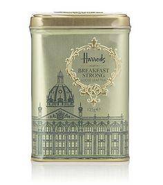 View the Flowery Earl Grey Loose Leaf Tea Tin / Harrods Harrods, Luxury Food, Earl Grey Tea, Tea Tins, Tea Packaging, Tea Caddy, Tea Art, My Tea, Loose Leaf Tea